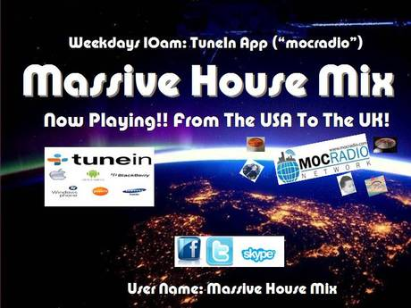 Massive house mix with kj jay mixx mocradio network for Old house music mix